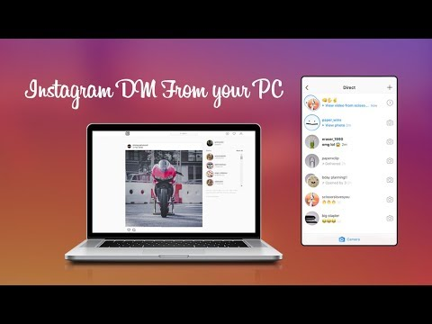 How to message on instagram pc